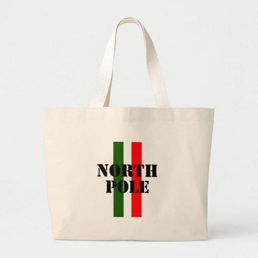 North Pole Tote Bags