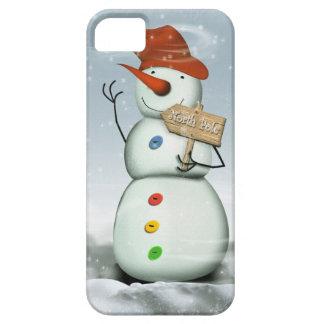North Pole Bound Snowman iPhone 5 Case