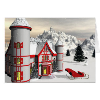 North Pole Card