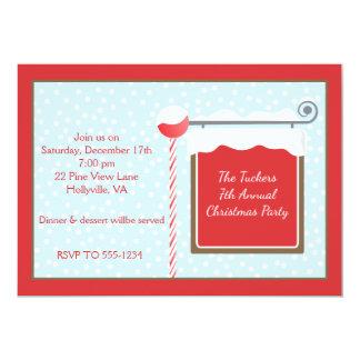 North Pole Christmas Party Invitation