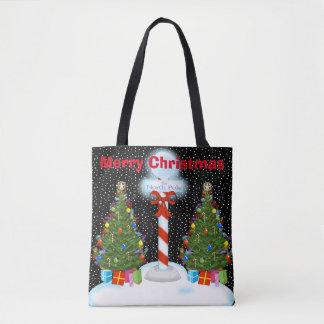 North Pole Christmas Tote Bag