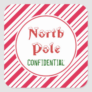 North Pole Confidential Stickers