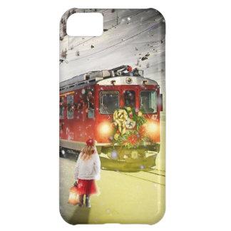 North pole express - christmas train - santa train iPhone 5C case