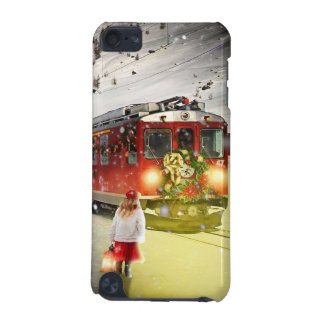 North pole express - christmas train - santa train iPod touch 5G cases