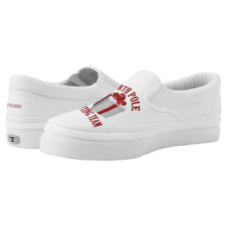 North Pole Gifting Team custom name shoes Printed Shoes
