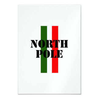 North Pole Personalized Announcements