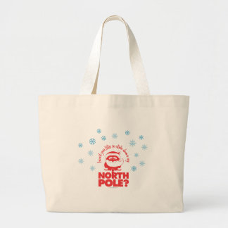 North Pole Jumbo Tote Jumbo Tote Bag