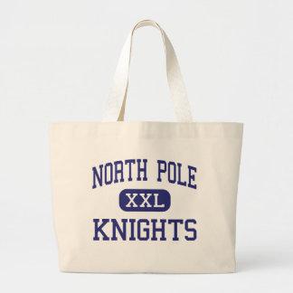 North Pole Knights Middle North Pole Alaska Tote Bag