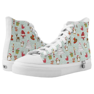 North Pole Penguin Friends High Tops