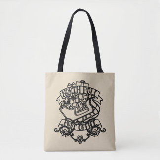 North Pole Post Office Christmas Tote Bag
