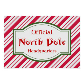 North Pole Poster