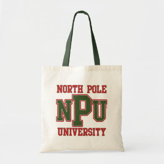 North Pole University Budget Tote Bag