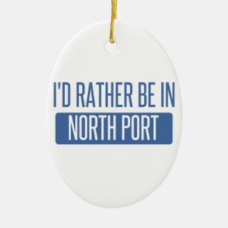 North Port Ceramic Ornament