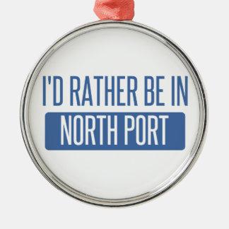 North Port Metal Ornament