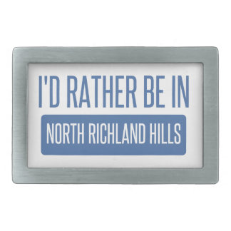 North Richland Hills Belt Buckle