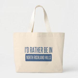 North Richland Hills Large Tote Bag