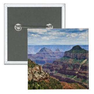North Rim Gran Canyon - Grand Canyon National 15 Cm Square Badge