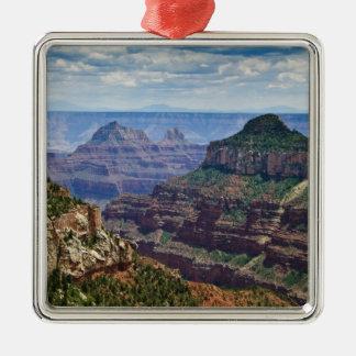 North Rim Gran Canyon - Grand Canyon National Metal Ornament