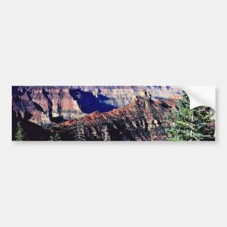 North Rim Of Grand Canyon From Encantadora Point Bumper Sticker