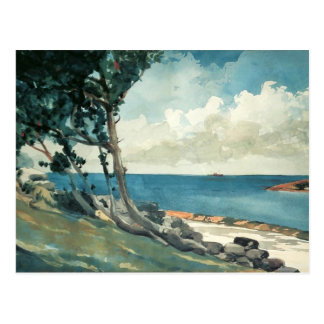 North Road, Bermuda by Winslow Homer Postcard