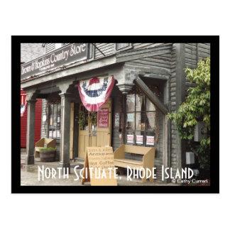 North Scituate,Rhode Island Postcard