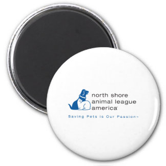 North Shore Animal League Branded Magnet