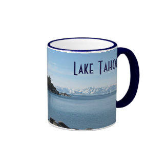 North Shore Lake Tahoe, Incline Village, Nevada Ringer Mug
