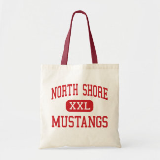 North Shore - Mustangs - Middle - Houston Texas Canvas Bags