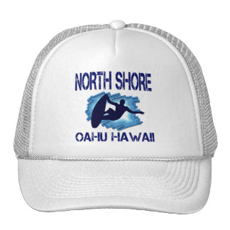 NORTH SHORE OAHU HAWAII HATS