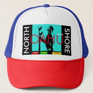 NORTH SHORE OAHU HAWAII TRUCKER HAT