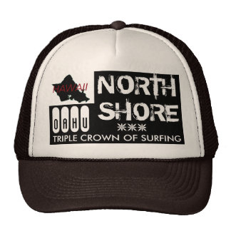 NORTH SHORE OAHU TRIPLE CROWN OF SURFING CAP