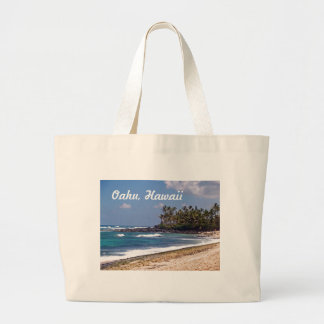 North Shore on the island of Oahu in Hawaii Tote Bags