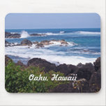 North Shore on the island of Oahu in Hawaii Mouse Pad