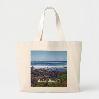 North Shore on the island of Oahu in Hawaii Jumbo Tote Bag