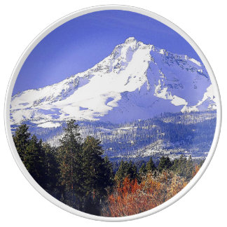 North Sister Porcelain Plates