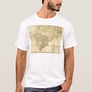 North & South Carolina Map (1775) T-Shirt