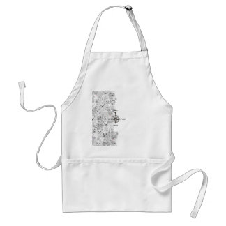 North South East & Westie Dog Standard Apron