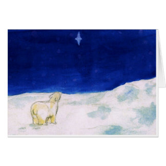 'North Star at the South Pole' Card