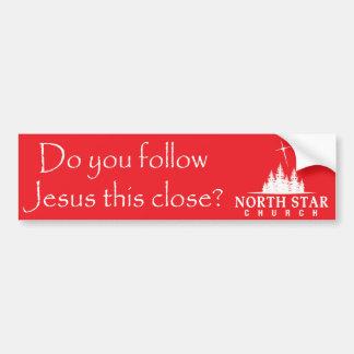 North Star Bumper Sticker - Follow Jesus