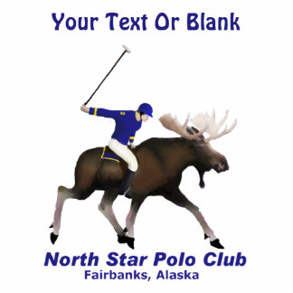 North Star (Moose) Polo Club Photo Sculpture Magnet