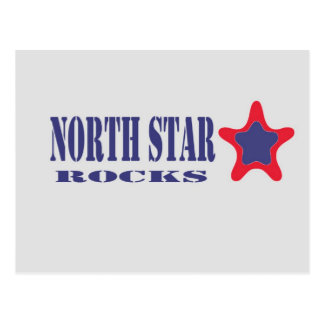 North Star Rocks (Grey, Blue, Red) Postcard