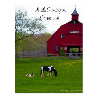 North Stonington, Connecticut Postcard