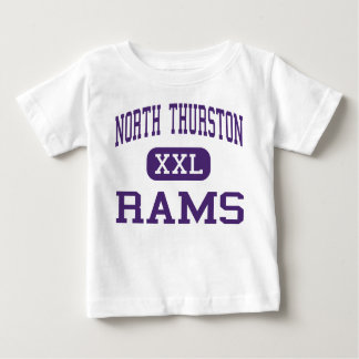North Thurston - Rams - High - Lacey Washington Baby T-Shirt
