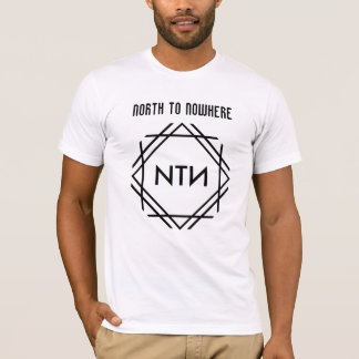 """North To Nowhere"" Men's T Shirt"
