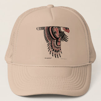 North West Coast Native Eagle Trucker Hat
