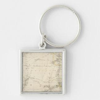 North Western Africa Key Chain