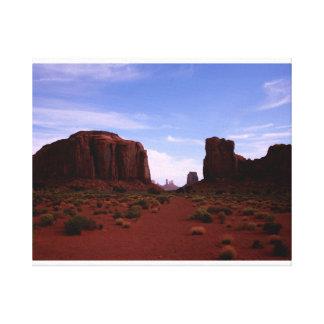 North Window, Monument Valley, Arizona Canvas Print