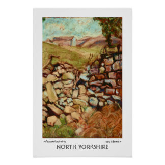 North Yorkshire Print or Poster