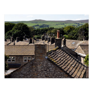 North Yorkshire Rooftops Postcard