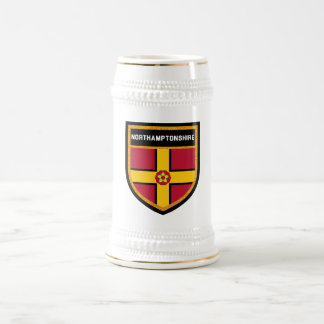 Northamptonshire Flag Beer Stein